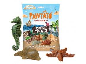 Mořské příšerky - žvýkací pamlsky pro psy - Benevo, 125 g