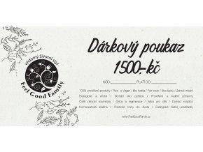 Darkový poukaz 1500