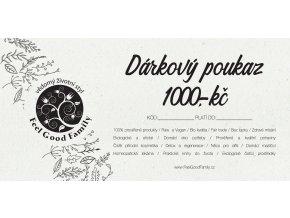 Darkový poukaz 1000
