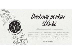 Darkový poukaz 500