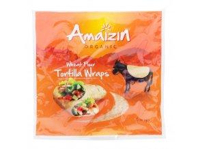 Tortilla Wraps, bio - Amaizin, (6ks) 240g - AKCE