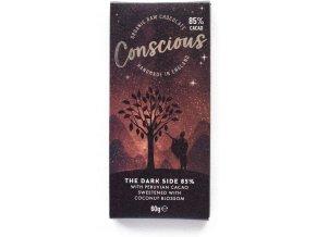Conscious čokoláda – Tmavá 85%, bio & raw, 60 g