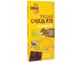 Čokoláda s kokosovým mlékem