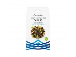 Mořské řasy Dulse z Atlantiku, bio - Clearspring, 25g