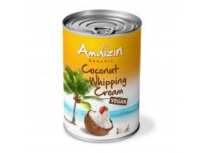 8166 kokosovy krem na slehani 400 ml bio amaizin