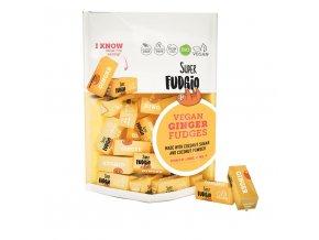 1180 veganske karamely zazvor bio super fudgio 150g