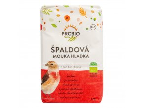 Špaldová mouka bílá hladká bio 1kg