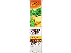 Prebiotická zubní pasta Zázvor a máta - Desert Essence