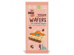 71265 oplatky s oříškovo čokoládovou náplní bio vegan