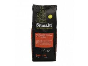 espresso sicilia 100% arabica zrnkova kava smaakt 500g