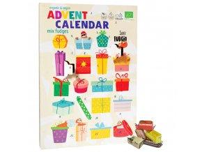 Adventní kalendář karamelkový, vegan, bio - Super Fudgio, 260 g