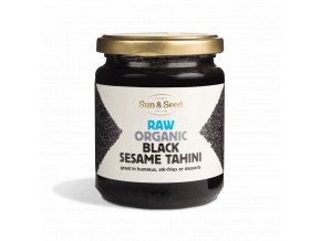 Tahini pasta z černého sezamového semínka - Bio, raw 250 g