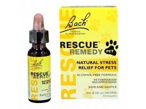 Rescue Pets pro zvířata - 10ml Bachovy Esence