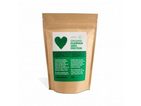 Proteinový prášek z dýňových semínek, bio, raw - Sun & Seed, 450 g
