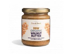 Pasta z vlašských ořechů 250g - Bio, raw