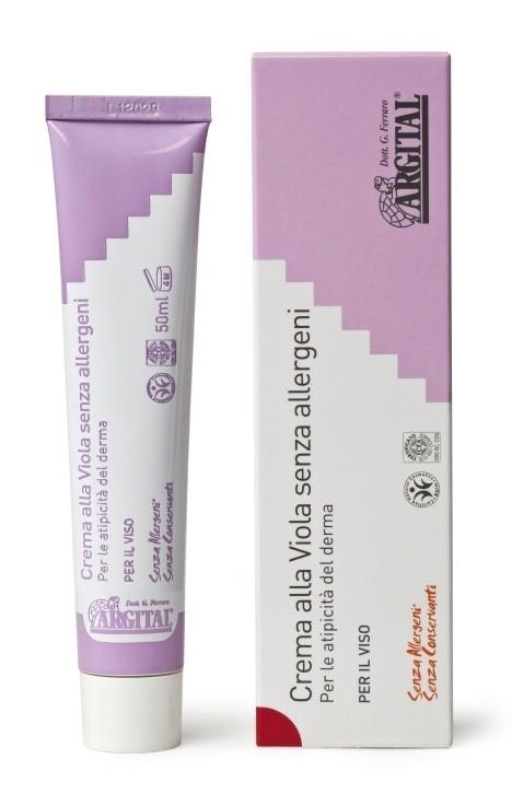 Hypoalergenní krém na obličej s violkou