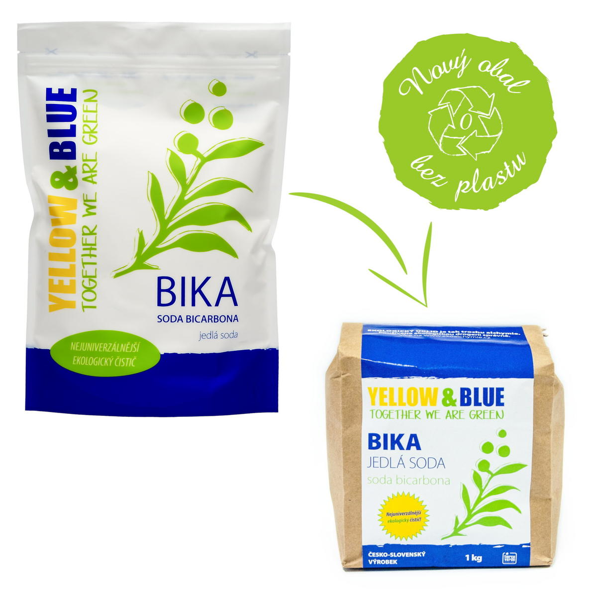 Jedlá soda BIKA (sáček 1 kg) Jedlá soda BIKA (sáček 1 kg)