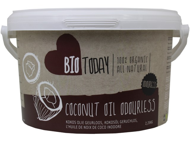 Kokosový olej bez vůně – Bio Today, 2250g