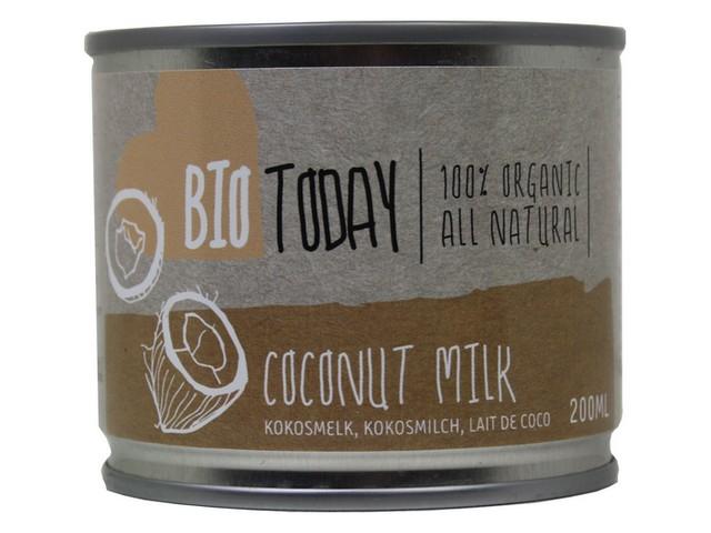 Kokosové mléko – Bio Today, 200ml
