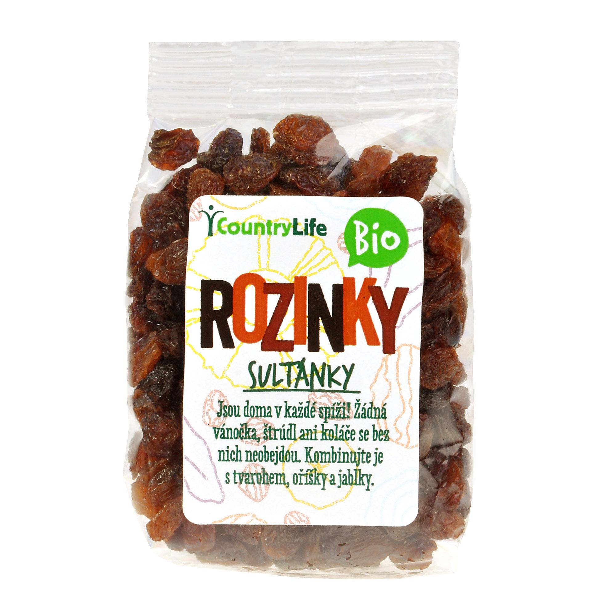 AKCE - Rozinky sultánky 100 g Bio