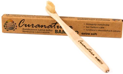 Bambusový zubní kartáček - Bamboo