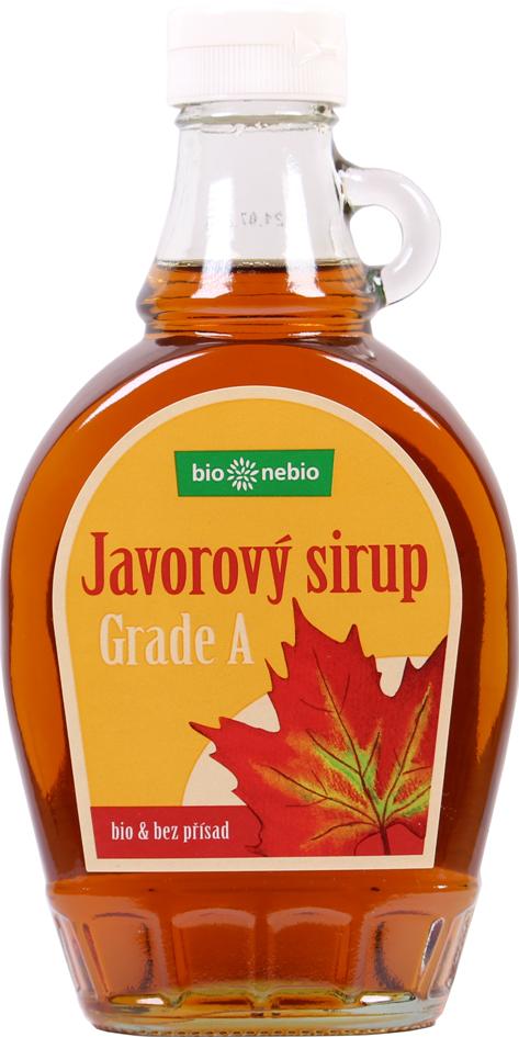 Javorový sirup 100%-ní Grade A Bio 250 ml