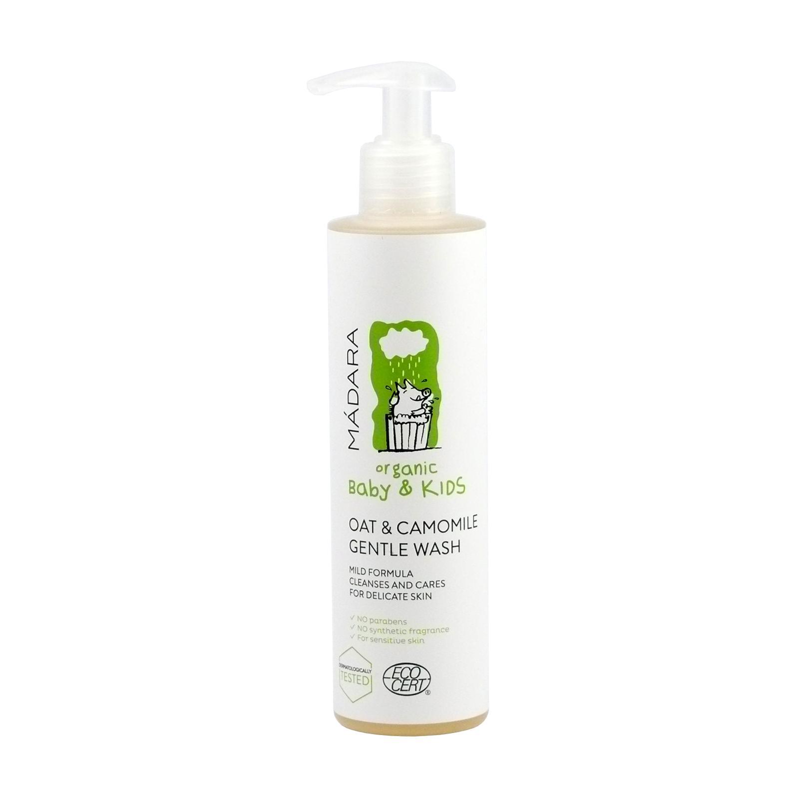 Mádara jemný šampon oves a lípa, baby & kids, 200 ml