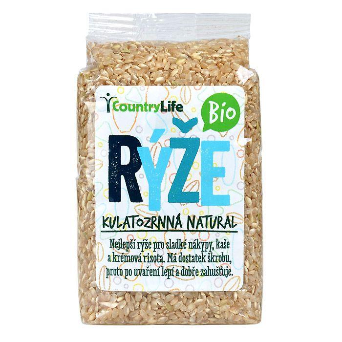 Rýže pololoupaná kulatozrnná 500g Bio