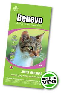 Veganské granule pro kočky Benevo