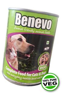 Benevo Duo, rostlinná konzerva pro psy a kočky