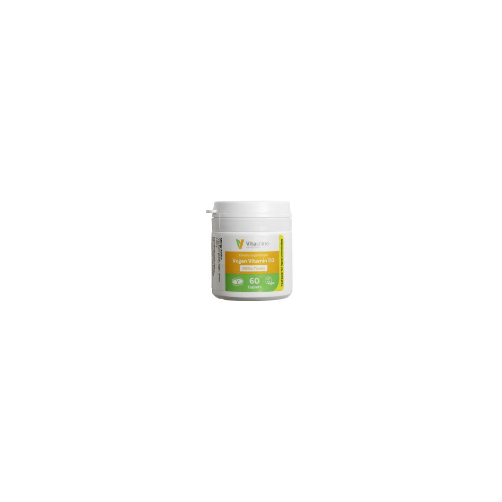 vegetology Vitashine tablety vitamin D3 2500 1