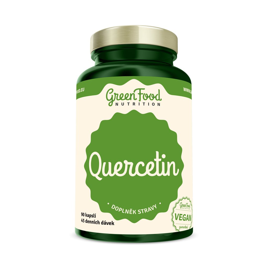 Quercetin greenfood nutrition vegan