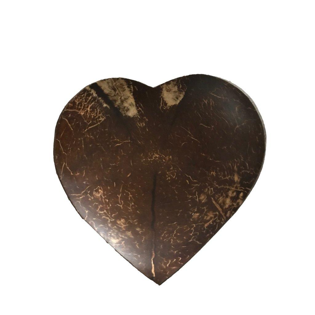 Kokosová miska ve tvaru srdce