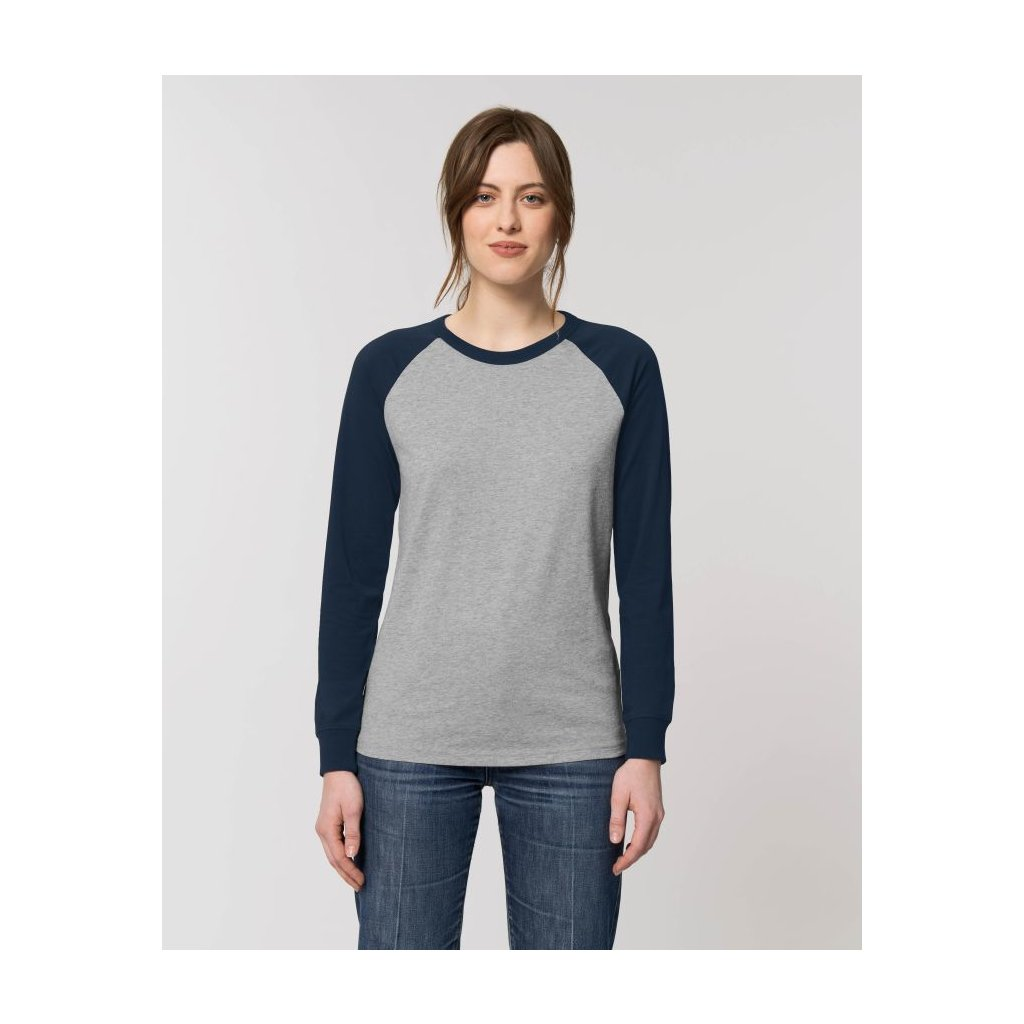 tricko catcher long sleeve french navy01