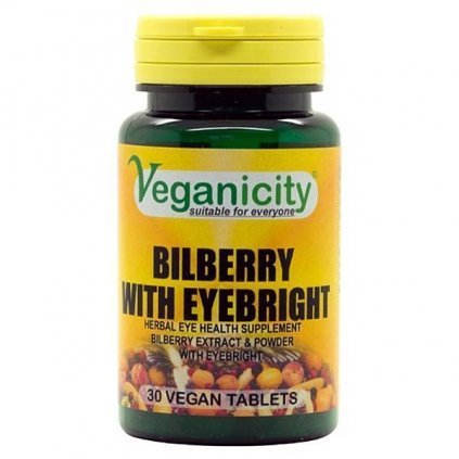 boruvka se svetlikem Bilberry with Eyebright veganicity vegan