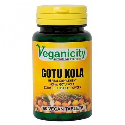 gotu kola tablety vegan society