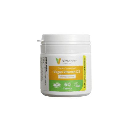 vegetology Vitashine tablety vitamin D3 2500 1