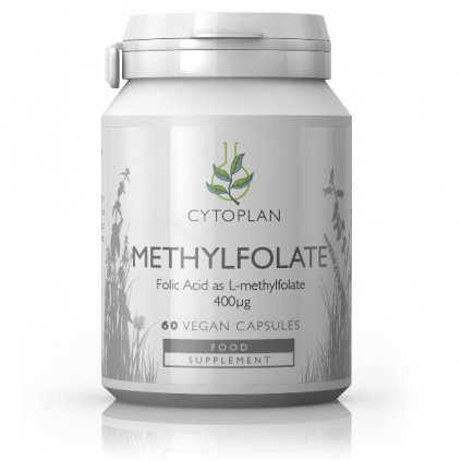 methylfolate kyselina listova vegan cytoplan