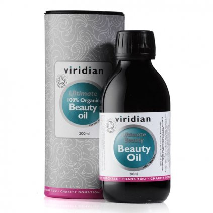 viridian beauty oil 200 ml organic