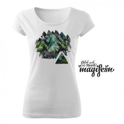 hory zelena damske tricko