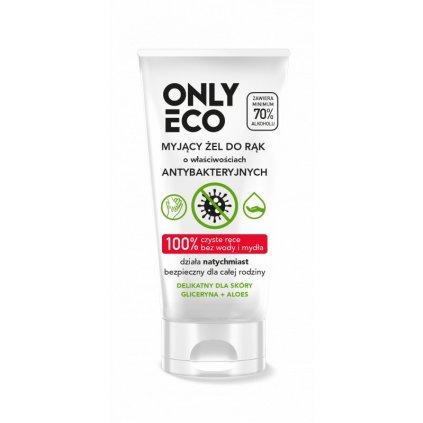 onlyeco gel na myti rukou s antibakterialnimi ucinky vo 50 ml vegan