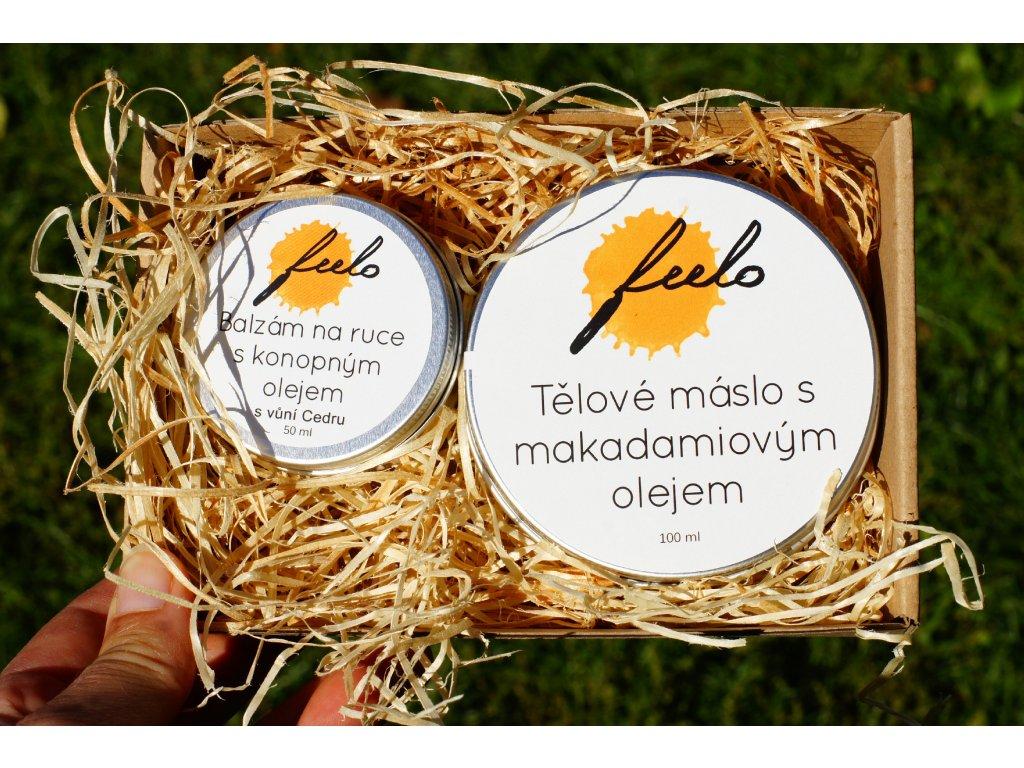 Dárkový balíček: Tělové máslo a balzám na ruce