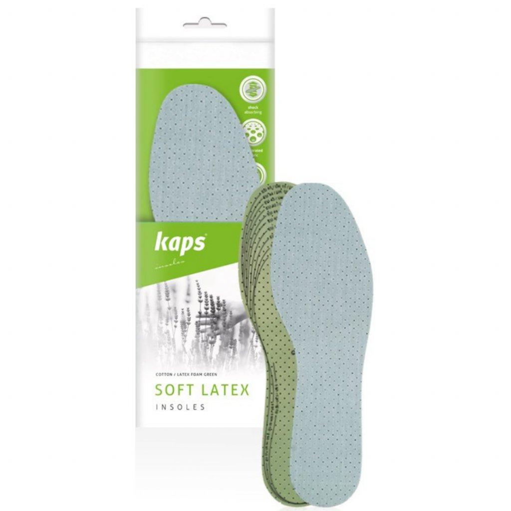 Antibakteriálne vložky do obuvi Kaps Soft Latex (2)