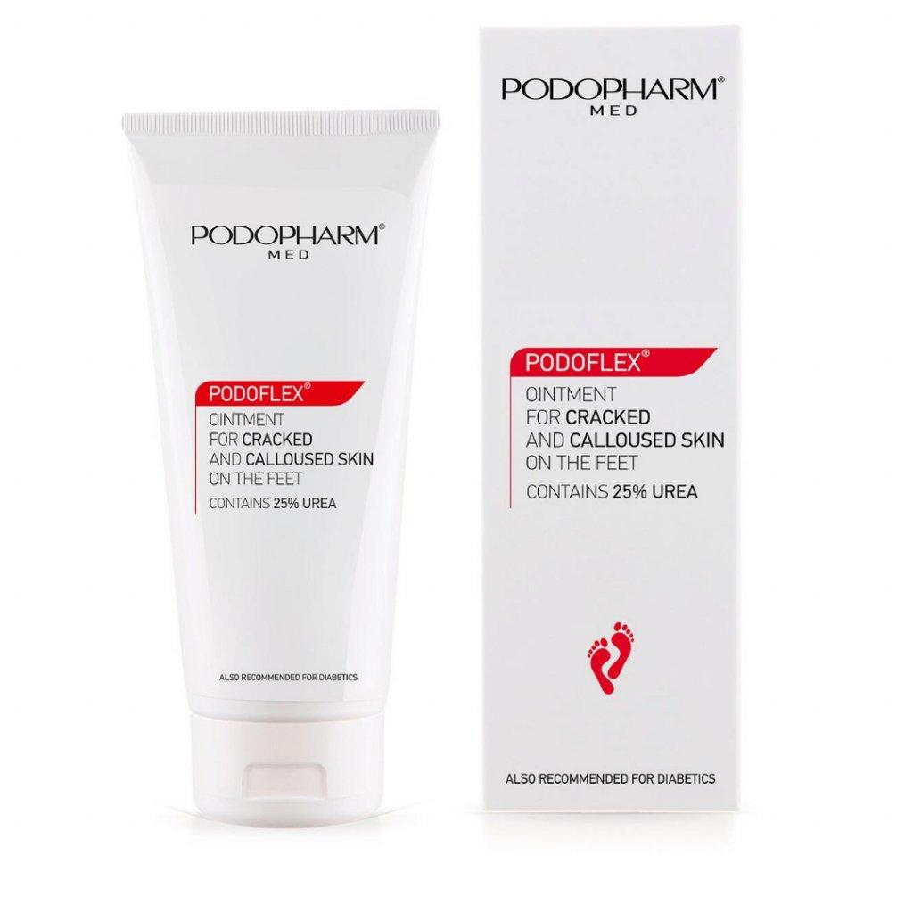 Krém na popraskané päty s 25% urea Podopharm Cracked & Calloused Skin 75 ml