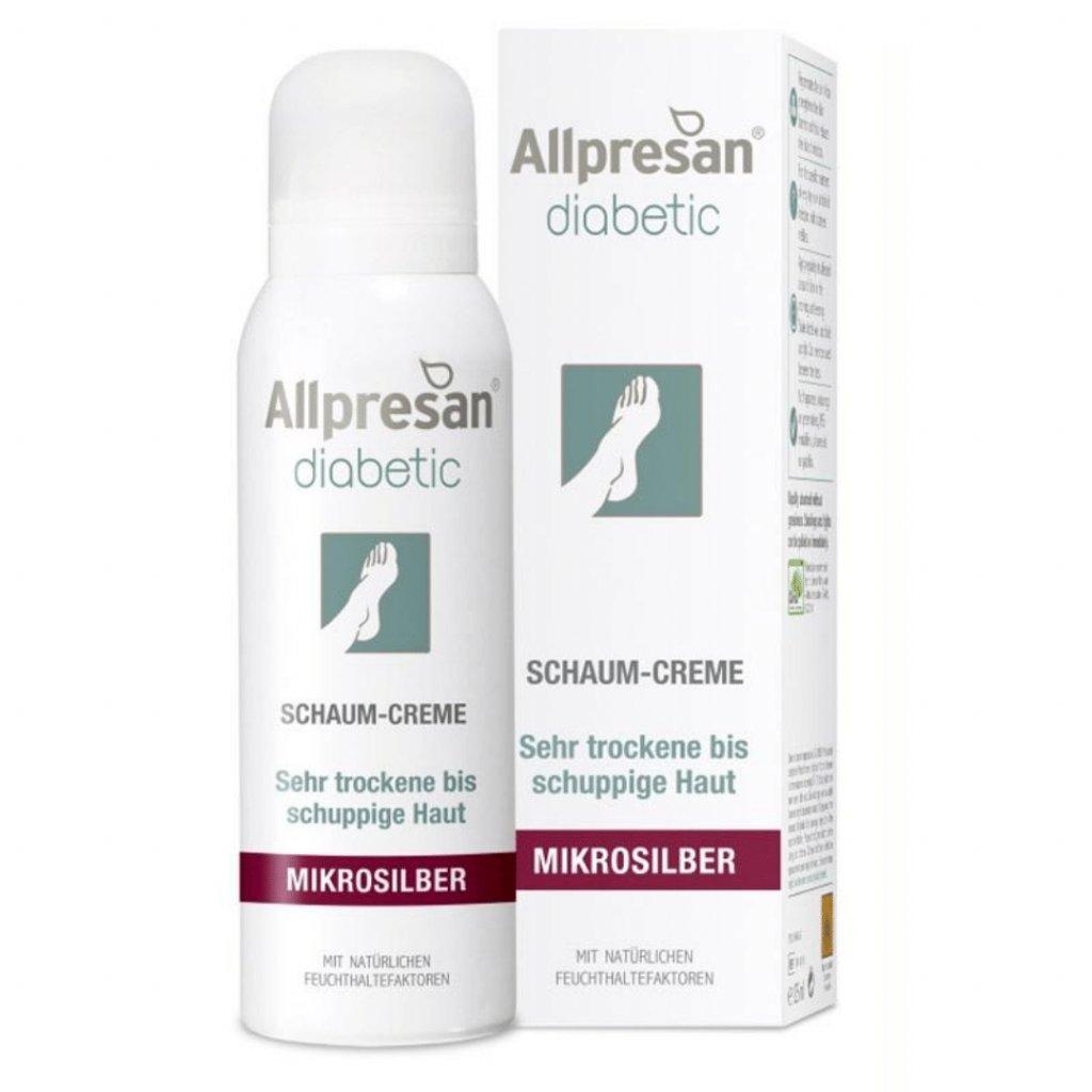 Pena na nohy pre diabetikov Allpresan Diabetic Mikrosilber 125 ml