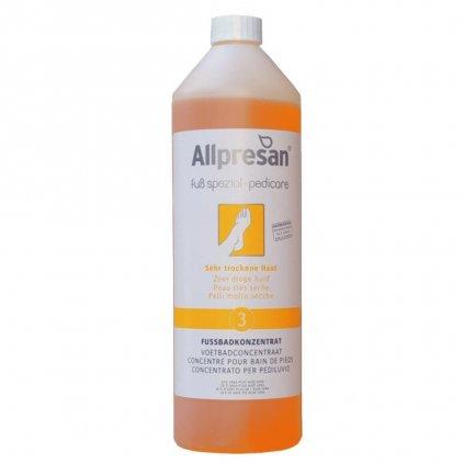 Allpresan 3 kúpeľ na nohy s veľmi suchou pokožkou 1000 ml