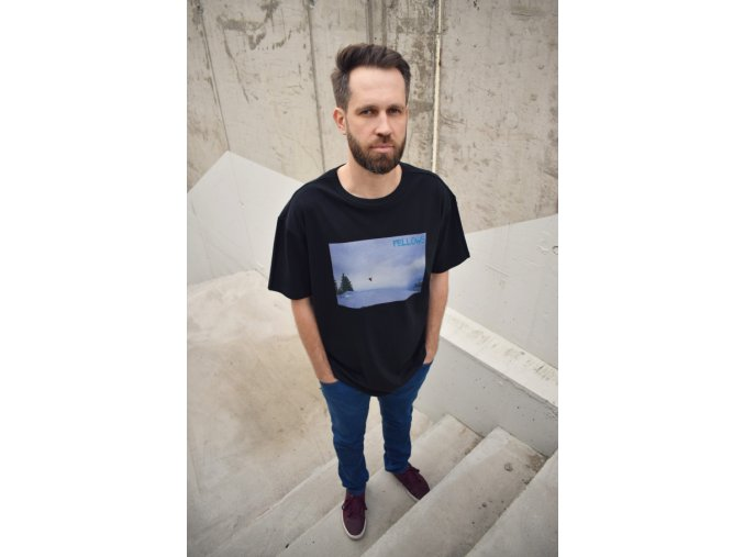 Tričko SNB JUMP OVERSIZED black