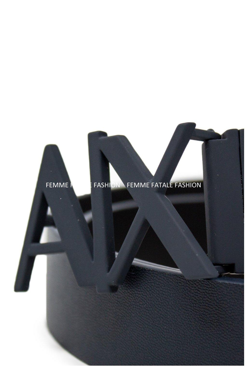 Pánský pásek Armani Exchange Men Belt (1)