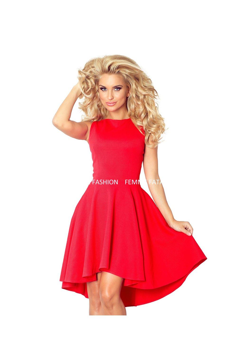 Dámské šaty s kolovou prodlouženou sukní RING femmefatalefashion (1)