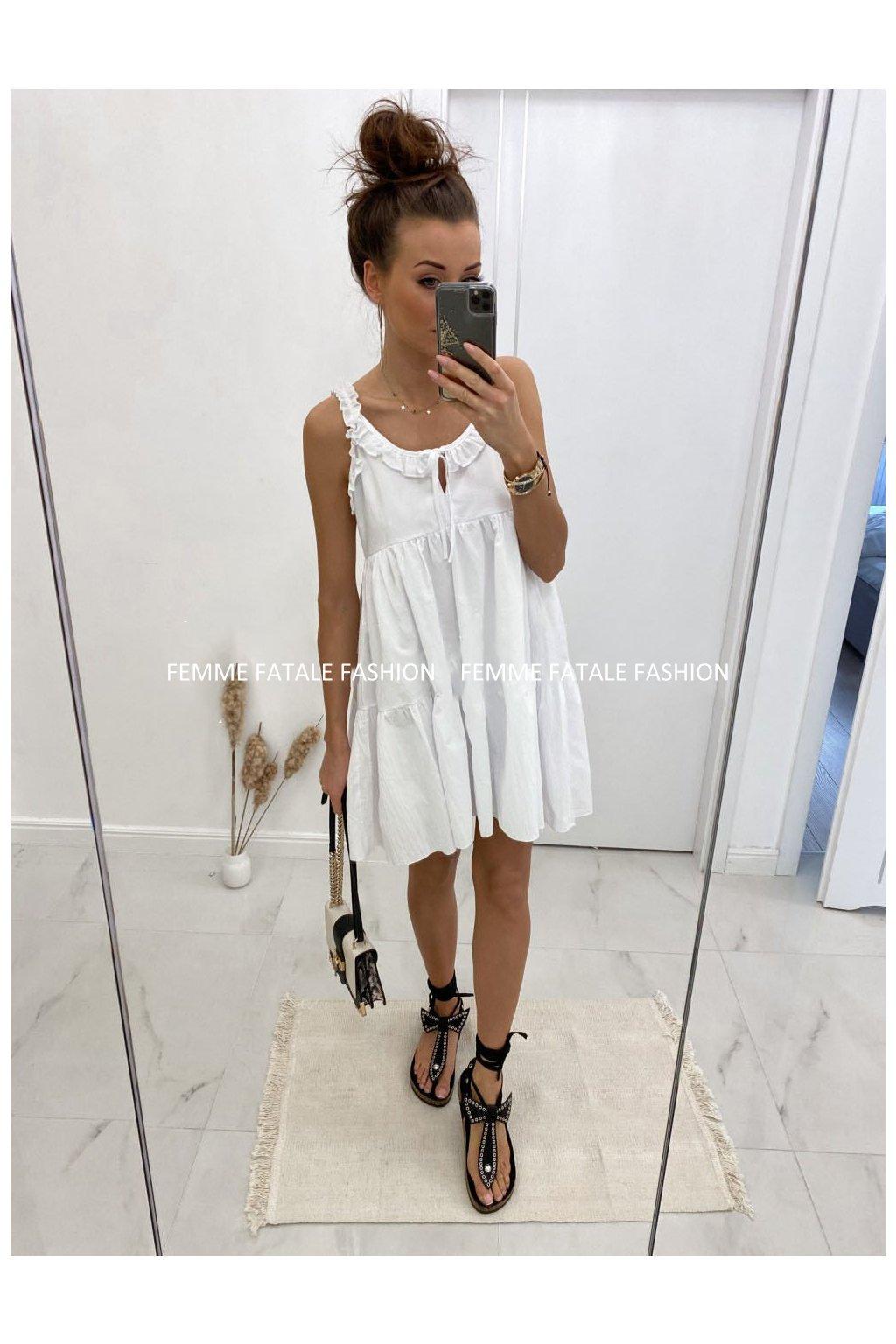 Šaty MADIS bílé